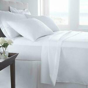 TC 400 Thread Deep Box (30 CM)Fitted Bed Sheets 100% Egyptian Cotton
