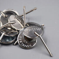 50 Pcs Dental Orthodontic Stainless Steel Mouth Mirrors 4# Plain Size Mirror