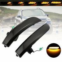 Für Ford Kuga EcoSport 13-18 2x Dynamische LED Spiegel Lauflicht Seitenblinker