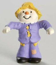 1990 Hallmark Scarecrow Dressed in Purple - New - Merry Miniature Halloween