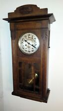 Vintage Art Deco wind up chiming Wall Clock