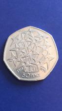 Collectable 50p Coin - European Union (1998)