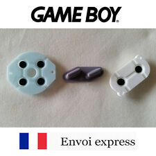 Kit Contact caoutchouc conducteur Game Boy classique neuf Boutons Gameboy GB FAT