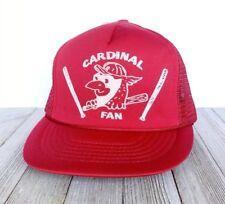 Vintage Snapback Trucker Hat St Louis Cardinals MLB Retro NOS Baseball Puff Cap