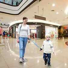PAMBO Anti-Lost Wrist Link Strap Leash For Toddlers Kids Safety Harnes Blue