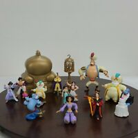 Vintage Disney Aladdin Palace Play Set And Figures Toys Action Figures Lot