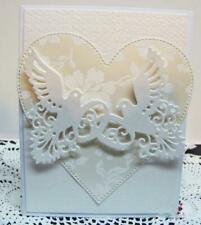 Wedding Dove Rings Metal Cutting Dies Stencil Embossing Die Cutter Template DIY