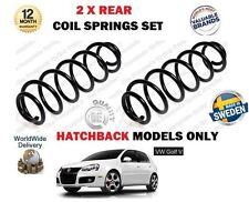 FOR VOLKSWAGEN VW GOLF V 1.4 TSI 2.0 TDI GT 2003-> NEW 2 X REAR COIL SPRINGS SET