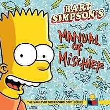 BART SIMPSONS MANUAL OF MISCHIEF - Vault of Simpsonology..NEW