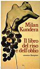 Il libro del riso e dell'oblio di Milan Kundera- Libro