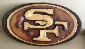 49er Sourdough logo by Boudin Bakery for 2020 playoffs. Not edible.
