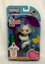 2016 WowWee Fingerlings White Baby Monkey Interactive Toy ~ New In Package