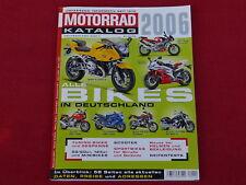 Der Original MOTORRAD-KATALOG Ausgabe 2006  Motorradkatalog
