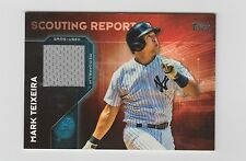 Mark Teixeira Yankees 2016 Topps Scouting Report Patch #SRR-MT