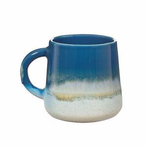 Sass & Belle Mojave Glaze Blue Ombre Mug Coffee Cup