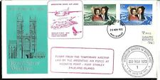 FF-49 FALKLAND-MALVINAS 1972 ARGENTINE AIRLINE LADE FLIGHT JOINT DECLARATION,RR!