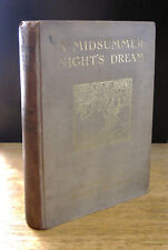 A MIDSUMMER NIGHT'S DREAM (1911) William Shakespeare, ARTHUR RACKHAM 1st Edition