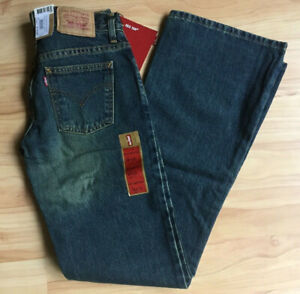 NWT Vintage Levi Strauss Womens Low Tight Flare Faded Medium Blue Jeans W25