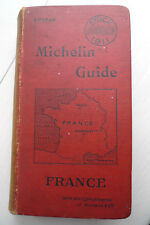 GUIDE MICHELIN 1911 ENGLISH EDITION ANGLAISE
