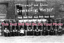 NT 223 - Equipment & Stores For Government War Dept, Newark, Nottinghamshire WW1