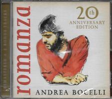 CD 18T INCLUS 3T BONUS ANDREA BOCELLI ROMANZA 20th ANNIVERSARY EDITION NEUF 2016