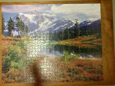 "1000 Pc. Golden Guild Jigsaw Puzzle Mountain Majesty 21 1/2"" X 27 1/2"""