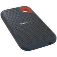 SanDisk SDSSDE60-2T00-G25 Extreme Portable 2TB USB 3.1 Type-C External SSD