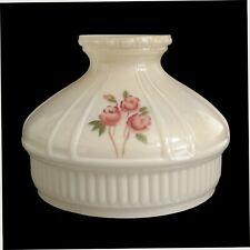 ALADDIN LAMP SHADE N679 CHAMPAGNE WITH RED ROSES - New in the Box