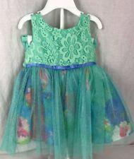 Sweetheart Rose Baby Kleid Blumenmuster mit Bloomers Größe 18 Monate