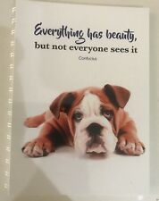 2018 - 2019 financial year diary Dog  WITH Beauty QUOTE A5