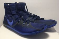 Nike Mens Size 13 Running Zoom Victory Waffle 4 Track Shoes Blue 878804-404