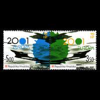 "Croatia 2001 - EUROPA Stamps ""Water, Treasure of Nature"" - Sc 451 MNH"