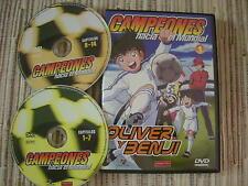 DVD ANIMACIÓN CAMPEONES HACIA EL MUNDIAL 1 OLIVER Y BENJI CAPTAIN TSUBASA USADO