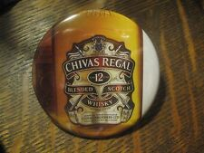 Chivas Regal Blended Scotch Whisky Bottle Logo Advertisement Button Pin $20