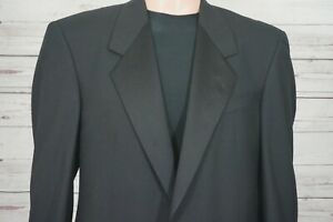 Karl Lagerfeld Tuxedo Jacket 40R Paris Dinner Men's Blazer Wool Black New