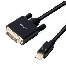 BENFEI Mini DisplayPort to DVI Cable, Mini DisplayPort to DVI 6 Feet Cable (T...