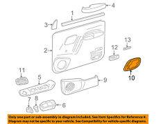 GM OEM Front Door-Handle Bezel Right 15708080