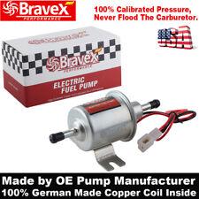 Bravex Low Pressure Gas Diesel Electric Fuel Pump 12V HEP02A Metal INLINE 4-7PSI