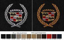 Lloyd Mats Vintage Cadillac Crest Velourtex Front Floor Mats (1941-2001)