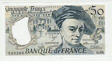 50 FRANCS  QUENTIN DE LA TOUR 1989 NEUF