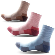 3 Pairs Womens Cotton Outdoor Sports Socks Hiking Casual Athletic Socks 5-10 NEW