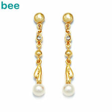 White Pearl Yellow Gold Fine Jewellery