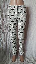 Sass & Bide diamond maze high waisted tapered woven trousers size 10 UK