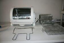 George Foreman Jr Horizontal Electric Rotisserie Rotating Roaster Bbq Oven Gr82B