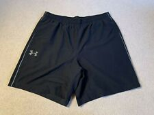Under Armour Woven Heatgear men's sports fitness shorts in black - XL size