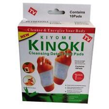 X10 Kinoki Detox Foot Patches Pads Body Toxins Feet Slimming Cleansing Herbal