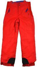 Columbia Snowboard Pantalones para Hombre XL Rojo Agua Esquí Invierno Genuino