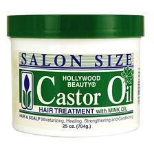Hollywood Beauty Castor Oil Hair Treatment with Mink Oil 708 gm / 25 Ounce