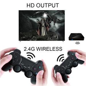 Game Box WiFi 4K Video Console Emulator 6000 Games Retro TV Box w/ 2 Gamepads^^