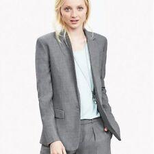 Banana Republic 14 Gray Wool Blazer light weight LKNEW Career Suiting